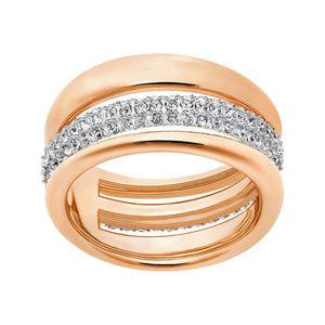 Brand New Rose Gold Swarovski Exact Ring 6.5